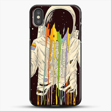 Load image into Gallery viewer, A Dreamful Existence iPhone X Case, Black Plastic Case | JoeYellow.com