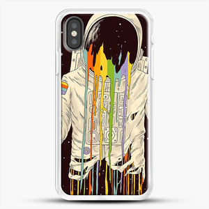 A Dreamful Existence iPhone X Case, White Rubber Case | JoeYellow.com