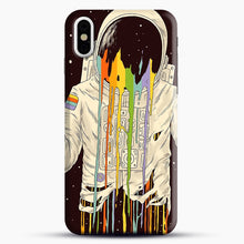 Load image into Gallery viewer, A Dreamful Existence iPhone X Case, Black Snap 3D Case | JoeYellow.com
