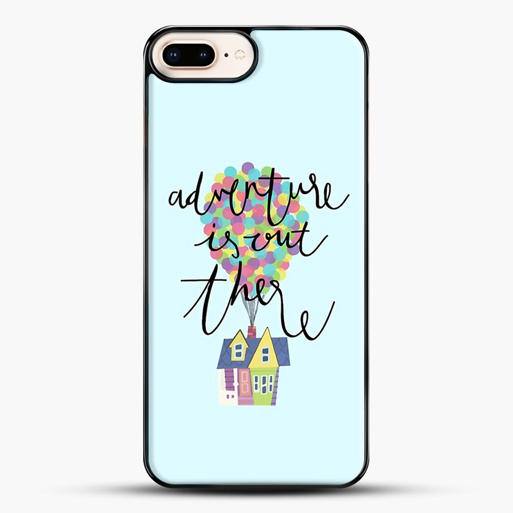 Adventure Is Out There iPhone 7 Plus Case, Black Plastic Case | JoeYellow.com