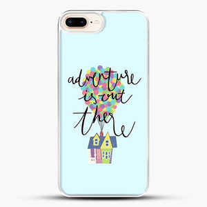 Adventure Is Out There iPhone 7 Plus Case, White Plastic Case | JoeYellow.com