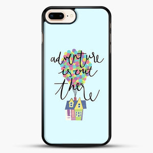 Adventure Is Out There iPhone 7 Plus Case, Black Rubber Case | JoeYellow.com