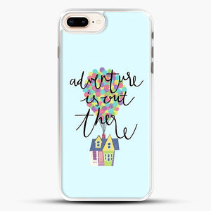 Adventure Is Out There iPhone 7 Plus Case, White Rubber Case | JoeYellow.com