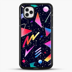 Aesthetic Design iPhone 11 Pro Case, Black Rubber Case | JoeYellow.com