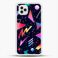 Load image into Gallery viewer, Aesthetic Design iPhone 11 Pro Case, White Rubber Case | JoeYellow.com