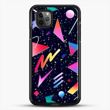 Load image into Gallery viewer, Aesthetic Design iPhone 11 Pro Max Case, Black Rubber Case | JoeYellow.com