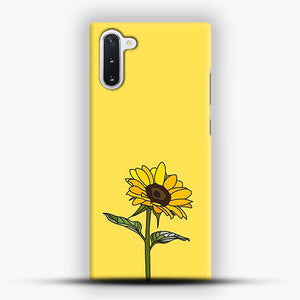 Aesthetic Sunflower Samsung Galaxy Note 10 Case
