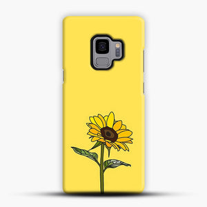 Aesthetic Sunflower Samsung Galaxy S9 Case