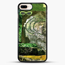 Load image into Gallery viewer, All Green iPhone 8 Plus Case, Black Rubber Case | JoeYellow.com