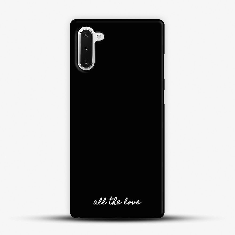 All The Love H Samsung Galaxy Note 10 Case