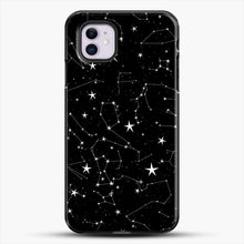 Load image into Gallery viewer, All The Love iPhone 11 Case, Black Plastic Case | JoeYellow.com