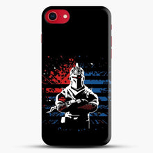 Load image into Gallery viewer, American Flag Fortnite iPhone SE 2020 Case, Snap 3D Case | JoeYellow.com