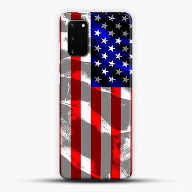 American Flag Samsung Galaxy S20 Case, Snap 3D Case | JoeYellow.com