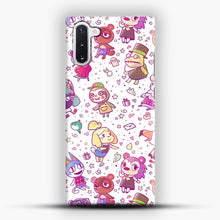 Load image into Gallery viewer, Animal Crossing Pattern Samsung Galaxy Note 10 Case
