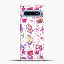 Load image into Gallery viewer, Animal Crossing Pattern Samsung Galaxy S10 Case