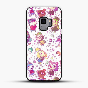 Animal Crossing Pattern Samsung Galaxy S9 Case