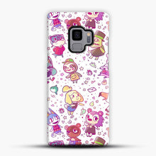 Load image into Gallery viewer, Animal Crossing Pattern Samsung Galaxy S9 Case