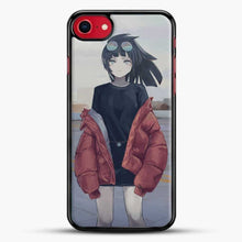 Load image into Gallery viewer, Anime Girl Sad Wear A Jacket iPhone 8 Case