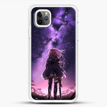 Load image into Gallery viewer, Anime Purple Sky iPhone 11 Pro Max Case