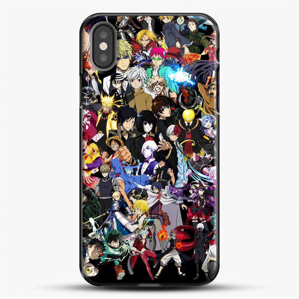 Anime Same Character iPhone X Case, Black Plastic Case | JoeYellow.com