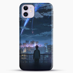 Anime See The City iPhone 11 Case, Black Snap 3D Case | JoeYellow.com