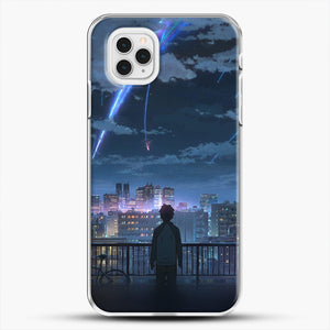 Anime See The City iPhone 11 Pro Case, White Plastic Case | JoeYellow.com
