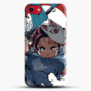 Animedemonslayer iPhone 8 Case, Black Snap 3D Case | JoeYellow.com