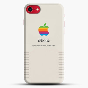 Apple iPhone Retro Edition Design iPhone 7 Case, Black Snap 3D Case | JoeYellow.com