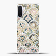 Load image into Gallery viewer, Art Deco Marble Tiles in Soft Pastels Samsung Galaxy Note 10 Case