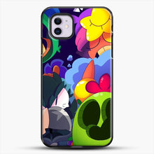 Load image into Gallery viewer, Bs Brawl Stars iPhone 11 Case, Black Plastic Case | JoeYellow.com