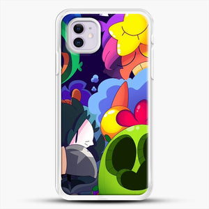 Bs Brawl Stars iPhone 11 Case, White Rubber Case | JoeYellow.com