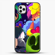Load image into Gallery viewer, Bs Brawl Stars iPhone 11 Pro Case, Black Plastic Case | JoeYellow.com