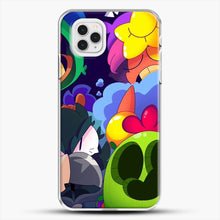 Load image into Gallery viewer, Bs Brawl Stars iPhone 11 Pro Case, White Plastic Case | JoeYellow.com