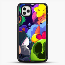 Load image into Gallery viewer, Bs Brawl Stars iPhone 11 Pro Case, Black Rubber Case | JoeYellow.com