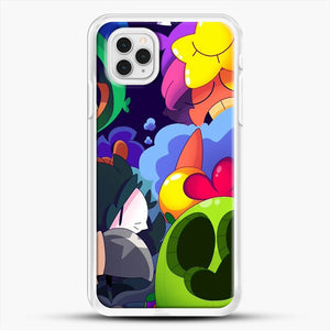 Bs Brawl Stars iPhone 11 Pro Case, White Rubber Case | JoeYellow.com