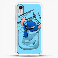 Load image into Gallery viewer, Badness Level Rising iPhone XR Case, White Rubber Case | JoeYellow.com