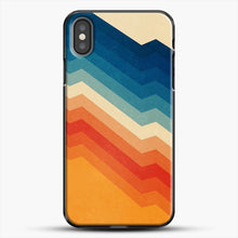Load image into Gallery viewer, Barricade iPhone X Case, Black Plastic Case | JoeYellow.com
