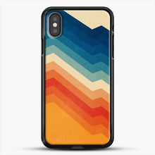 Load image into Gallery viewer, Barricade iPhone X Case, Black Rubber Case | JoeYellow.com