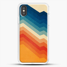 Load image into Gallery viewer, Barricade iPhone X Case, White Rubber Case | JoeYellow.com