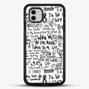 Billie Eilish iPhone 11 Case, Black Rubber Case | JoeYellow.com