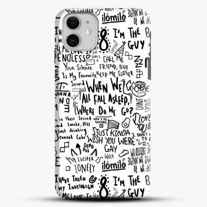 Billie Eilish iPhone 11 Case, Black Snap 3D Case | JoeYellow.com