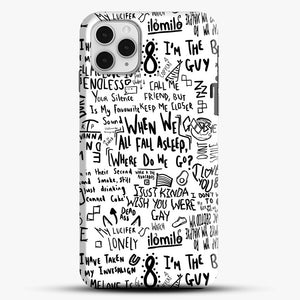 Billie Eilish iPhone 11 Pro Case, Black Snap 3D Case | JoeYellow.com