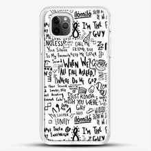 Load image into Gallery viewer, Billie Eilish iPhone 11 Pro Max Case, White Rubber Case | JoeYellow.com