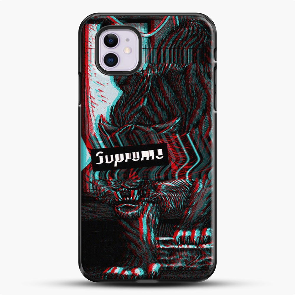 Black Beast iPhone 11 Case, Black Plastic Case | JoeYellow.com