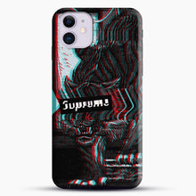 Load image into Gallery viewer, Black Beast iPhone 11 Case, Black Snap 3D Case | JoeYellow.com