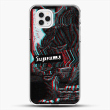 Load image into Gallery viewer, Black Beast iPhone 11 Pro Case, White Plastic Case | JoeYellow.com