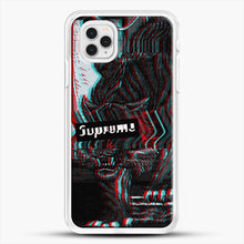 Load image into Gallery viewer, Black Beast iPhone 11 Pro Case, White Rubber Case | JoeYellow.com