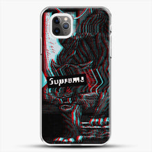 Load image into Gallery viewer, Black Beast iPhone 11 Pro Max Case, White Plastic Case | JoeYellow.com