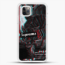 Load image into Gallery viewer, Black Beast iPhone 11 Pro Max Case, White Rubber Case | JoeYellow.com