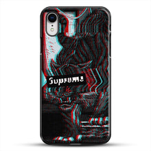 Load image into Gallery viewer, Black Beast iPhone XR Case, Black Plastic Case | JoeYellow.com